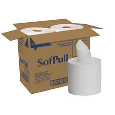 Georgia Pacific - SofPull, Center Pull Paper Towels, 1-Ply - 2,240 Sheets