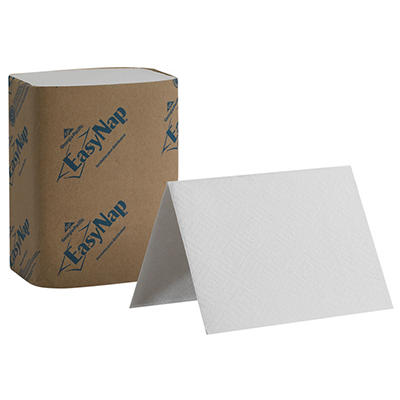 Georgia Pacific Professional - Double-Ply Embossed Dispenser Napkins, 6 1/2 x 10, White -  6000/Carton