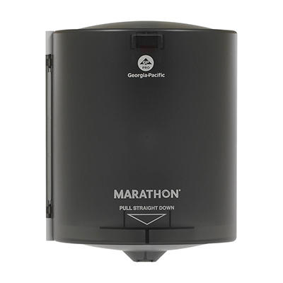 Marathon - Towel Dispenser, Center Pull, Smoke - 300 Sheets Capacity
