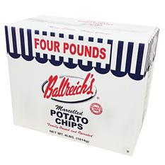 Ballreich's Potato Chips - 1 lb. bag - 4 ct.