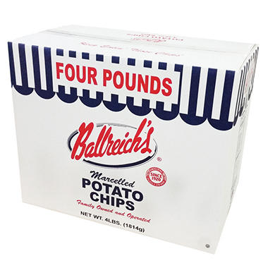 Ballreich's Potato Chips - 1 lb. bag - 4 ct.