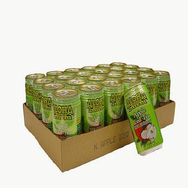 Aloha Maid Apple Iced Tea - 24/11.5 oz.