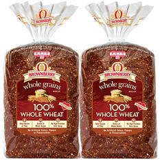 Brownberry 100% Whole Wheat - 24 oz. - 2 pk.