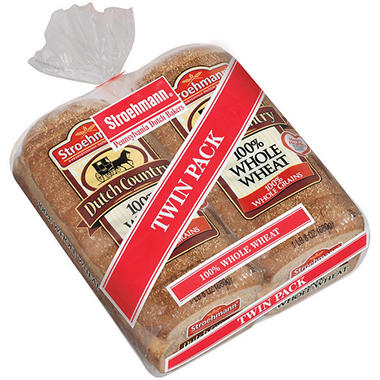 Stroehmann Dutch Country 100% Whole Wheat  - 24 oz. - 2 ct.