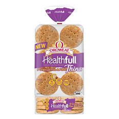 Oroweat Healthful 9 Grain Sandwich Thins (24 ct.)