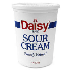 Daisy Sour Cream - 5 lb. tub