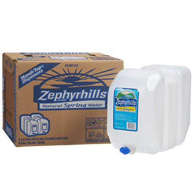 Zephyrhills Natural Spring Water (2.5 gal., 2 ct.)