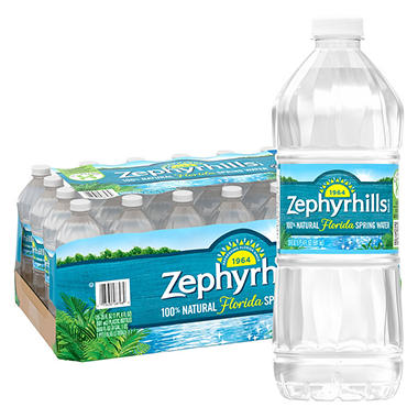 Zephyrhills Natural Spring Water (20 oz. bottle, 28 ct.)