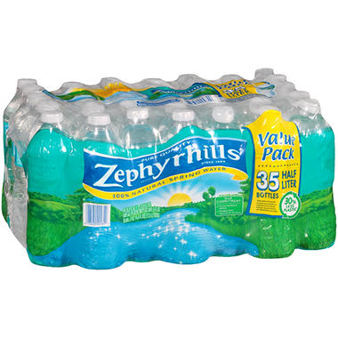 Zephyrhills 100% Natural Spring Water (16.9 oz. bottles, 35 pk.)