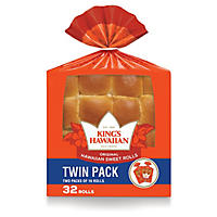 King's Hawaiian Twin Pack Original Sweet Rolls(32 oz., 32 ct.)
