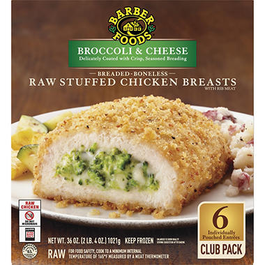 Barber Foods� Premium Entrees Broccoli & Cheese - 6 pks.
