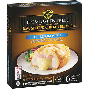 Barber Foods® Premium Entrees Cordon Bleu - 36 oz.