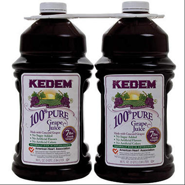 Kedem 100% Grape Juice - 1/96oz