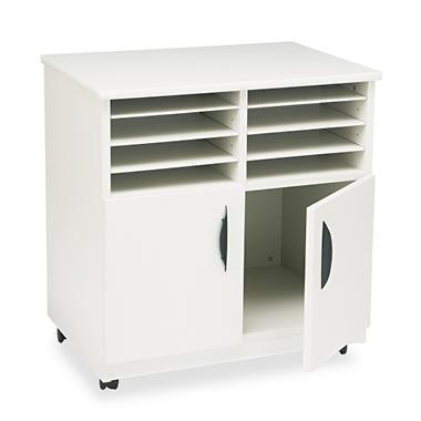 Safco® Mobile Machine Stand w/ Sorter