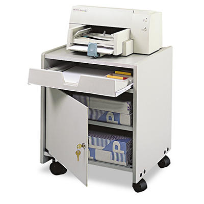 Safco® Office Machine Mobile Floor Stand - Gray
