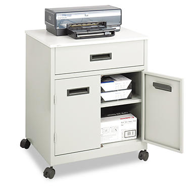 Safco� Steel Machine Stand with Pullout Drawer