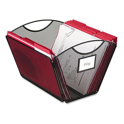 Safco® Onyx Mesh Desktop Tub File