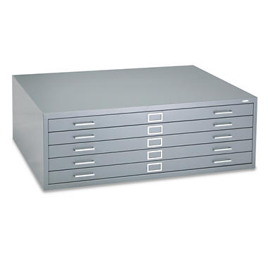 Safco - Steel Flat File, 5-Drawer - Various Sizes