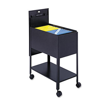Safco - Extra-Deep Locking Mobile Tub File - Various Colors and Sizes