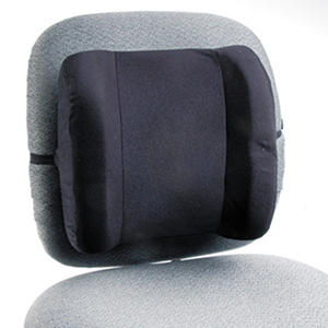 "Safco Remedease 13"" High Profile Backrest, Black"