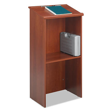 Safco Stand-Up Lectern - Cherry