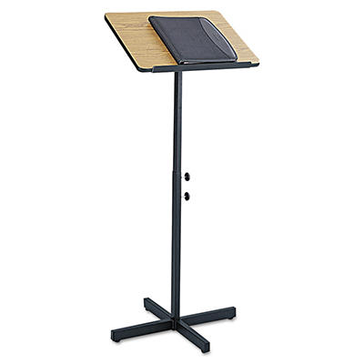 Safco® Adjustable Speaking Stand