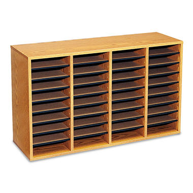 Safco 36 Compartment Adj. Literature Organizer