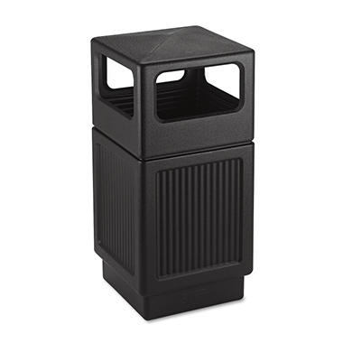Safco Canmeleon Side-Open Receptacle - 38 Gal.