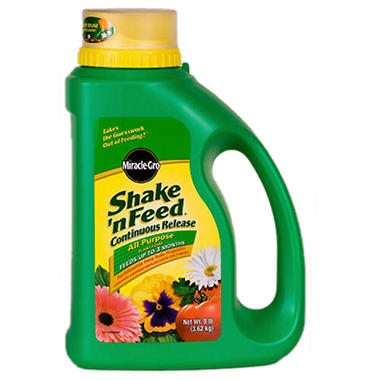 Miracle-Gro® Shake 'n Feed® Plant Food - 8 lb.