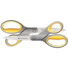 "Westcott 8"" Straight Titanium Bonded Scissors (2 ct.)"