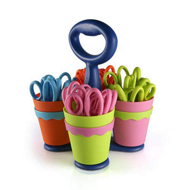 Westcott Scissor Caddy including 5