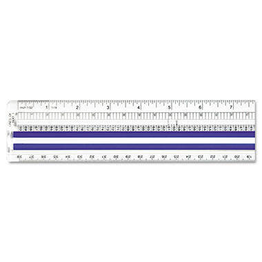 Westcott® Magnifying Computer Printout Ruler