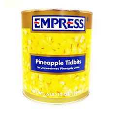 Empress Pineapple Tidbits (107 oz.)