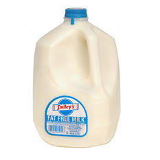 Smiley's Fat Free Milk (1 gal.)