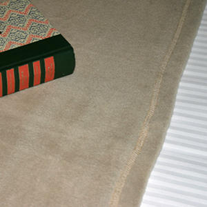 Riegel Hospitality Blanket - Tan - Various Sizes