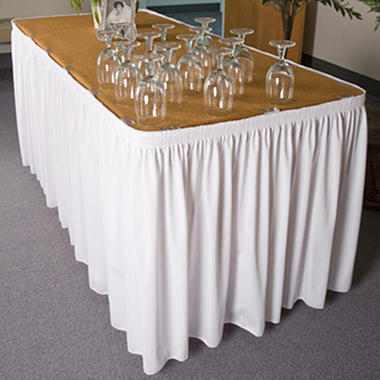 Riegel Polyester Shirred Skirting - 30