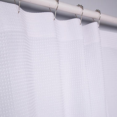 Riegel Waffle Weave Shower Curtain - 6-Pk.