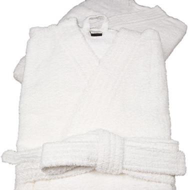 Riegel Cotton Terry Kimono Bath Robe - 2-Pk.