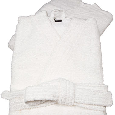 Riegel Cotton Terry Kimono Bath Robe - 2-Pk.