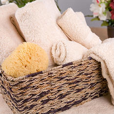 Riegel Royal Collection 100% Cotton Bath Mats - Beige - 6 pk.