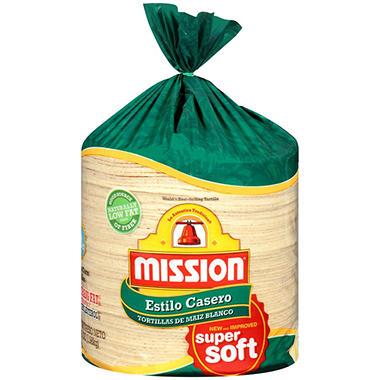 Mission White Corn Estilo Casero - 70 oz. bag