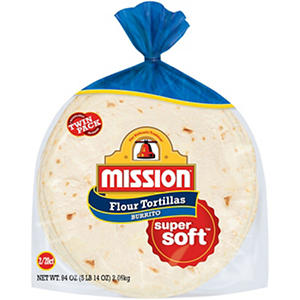 Mission Large Burrito Flour Tortillas (20 ct., 2 pk.)