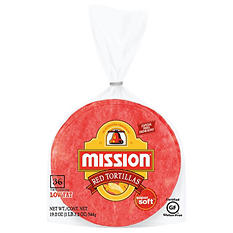 Mission Red Corn Tortillas (36 ct.)