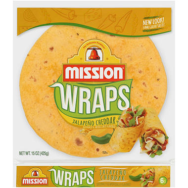 Mission Jalapeno Cheddar - 6 ct. 15 oz. bag