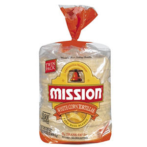 Mission® White Corn Tortillas - 100 ct.