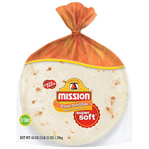 Mission Medium Soft Taco Flour Tortillas (18 ct., 2 pk.)