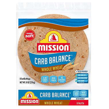 Mission Carb Balance Whole Wheat Small - 8 ct. - 8 oz. bag