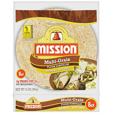 Mission Medium Multi-Grain Flour Tortillas (14 oz., 8 ct.)