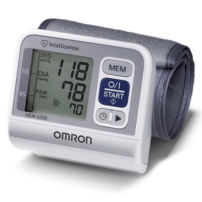 Omron Wrist Digital BPM 60 Memory HEM-6200 - (Puerto Rico Only)