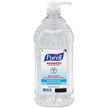 Purell - Instant Hand Sanitizer - Pump - 2 Liters (67.6 oz)